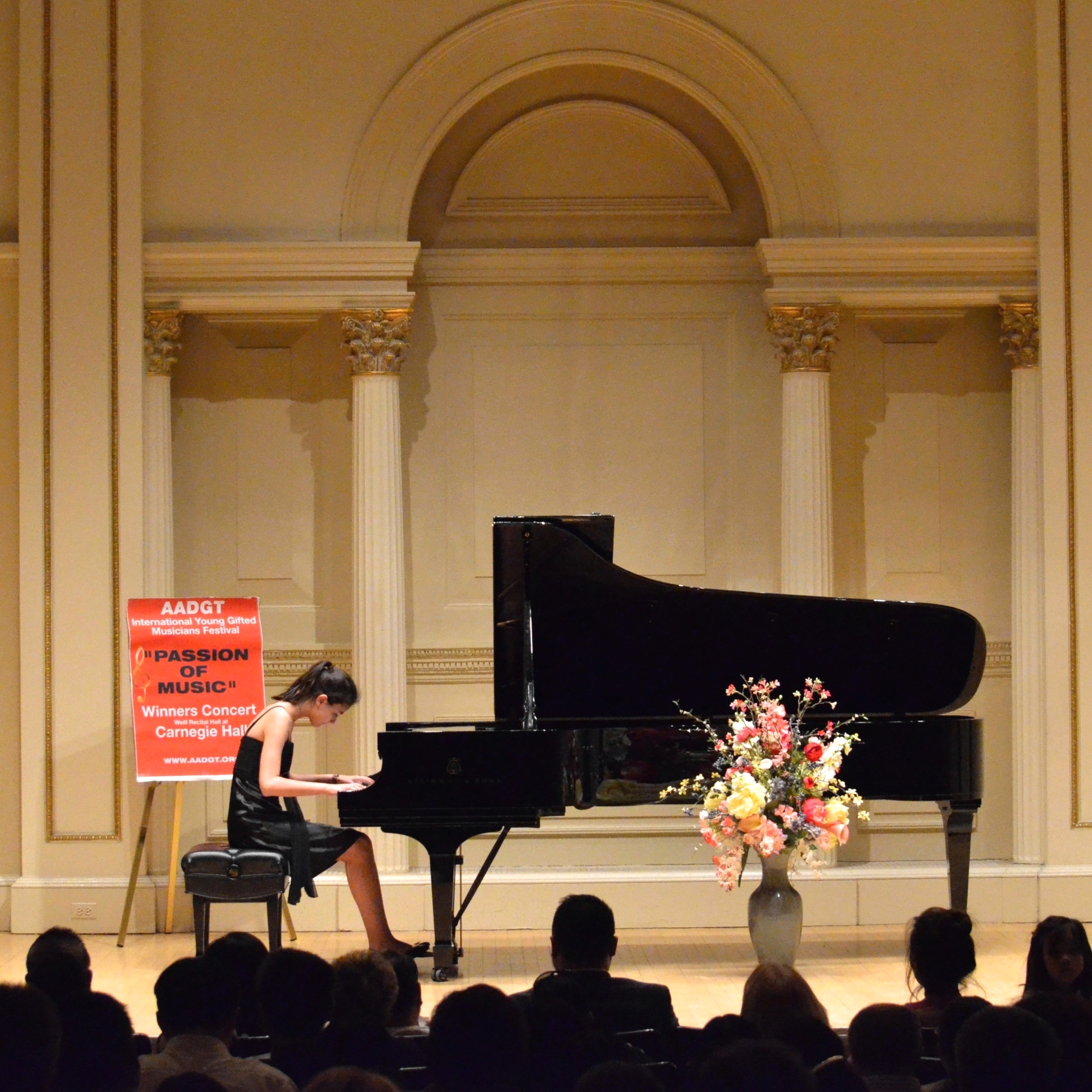 Carnegie Hall (New York), 17.4.2016