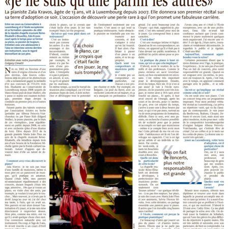 Le Quotidien, 4.2.2016