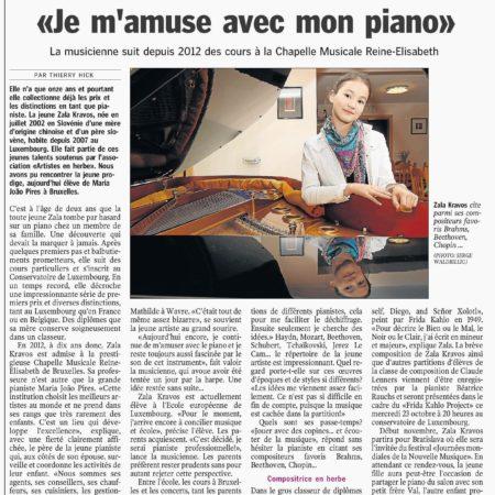 Luxemburger Wort, 21.10.2013