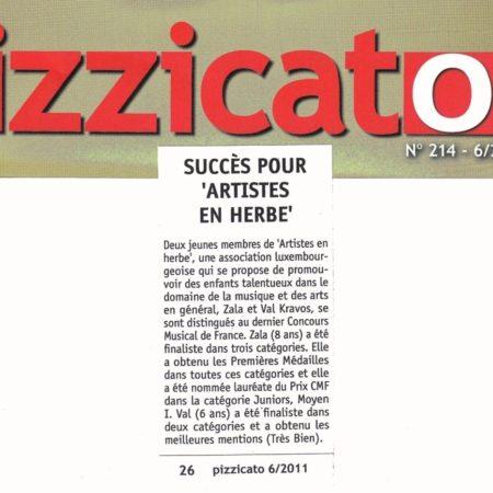 Pizzicato no 214, 6.2011